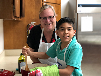 Cmhs Healthy Kids In The Kitchen Program Enters Second Year